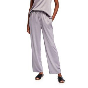 Eileen Fisher Recycled Polyester Straight Leg Pant
